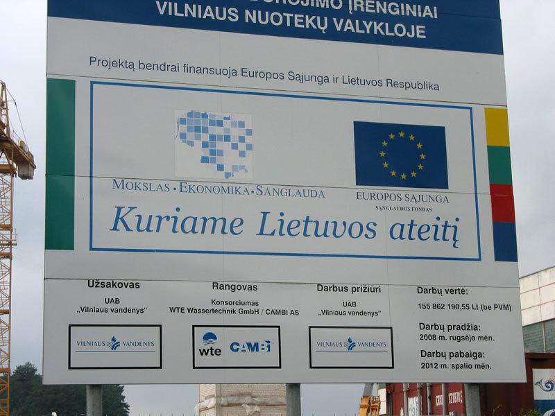 """ES parama """"Vilniaus vandenų"""