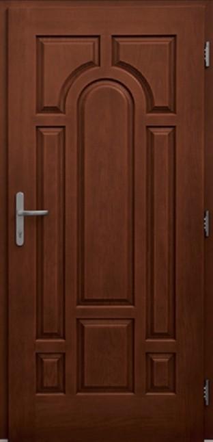 medžio imitacijos durys