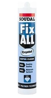 Fix all Crystal klijuojantis hermetikas