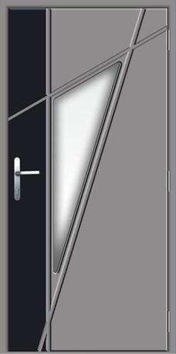 Lauko durys su stiklo paketu