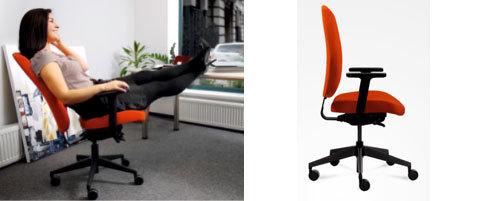 Darbo kėdė turi padėti atsipalaiduoti ir per poilsio minutę
