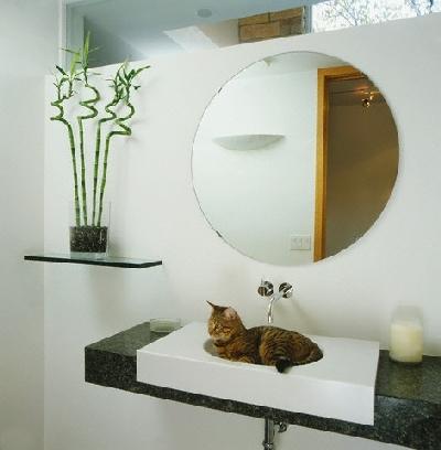 baltas vonios kambarys