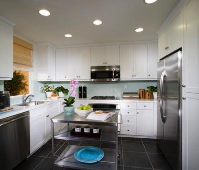 Balta virtuvė