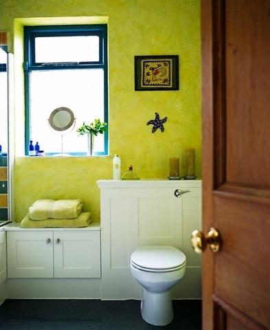 Žalsvas vonios kambarys