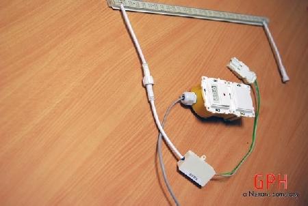 LED apšvietimo sistema su kieta juostele