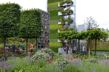 The B&Q Garden, Laurie Chetwood and Patrick Collins, Gold Medal