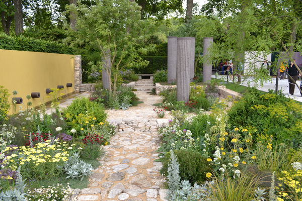 The Daily Telegraph Garden, Cleve West, Gold Medal and Best in Show