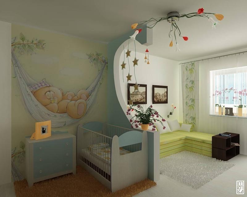 Варианты отделки детской комнаты фото 6
