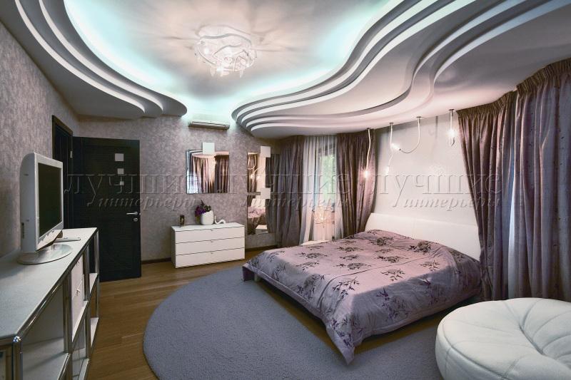 Asa lt b dai kaip vizualiai padidinti ma kambar for Gips decor ceiling