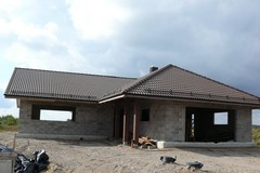 Medinės santvarinės stogų konstrukcijos