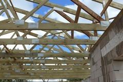 Medinės stogų konstrukcijos