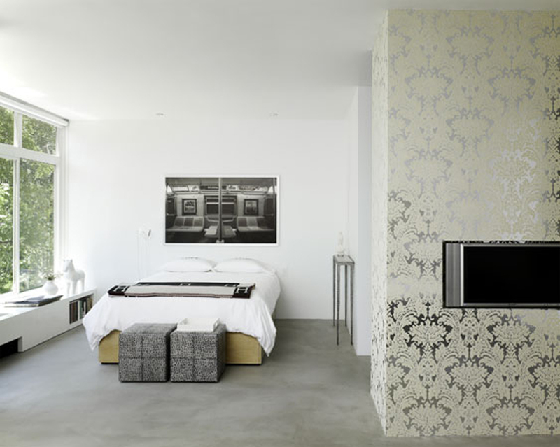 Interior Decor Using Wallpaper : Asa lt ornamentas interjere