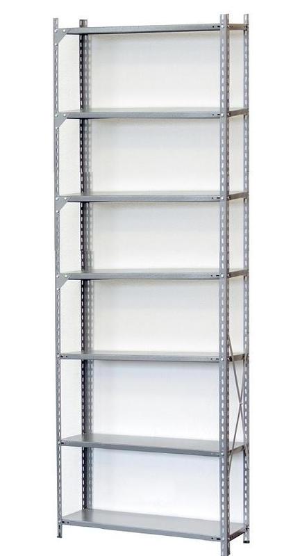 Stelažai Cross 2640- 7 lentynos