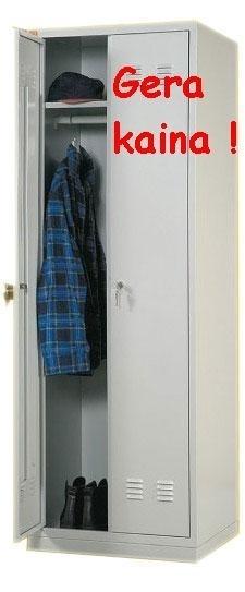 Dviejų durų rūbų spintos